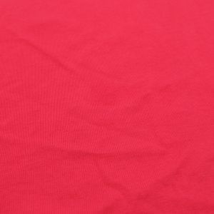 Coral Solid Washed Cotton Fabric