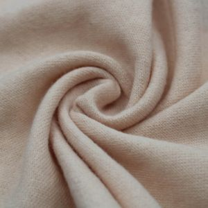 Blush French Terry Brushed Fleece Fabric