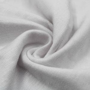 White Rayon Ponte Roma Fabric