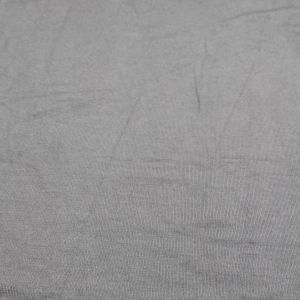 Gray Dark Rayon Siro Spandex Jersey Knit Fabric by the Yard