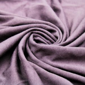 Purple Rayon Siro Spandex Jersey Knit Fabric by the Yard