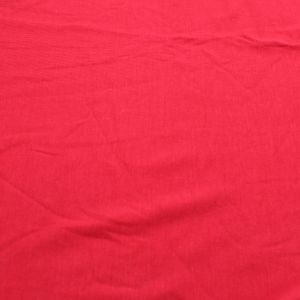 Red Scarlet Rayon Siro Spandex Jersey Knit Fabric by the Yard