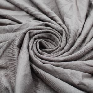 Taupe Dark Rayon Siro Spandex Jersey Knit Fabric by the Yard