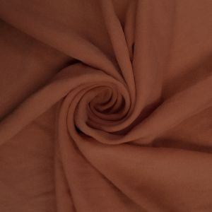 Coral Burnt 100% Poly Air Flow Satin Fabric