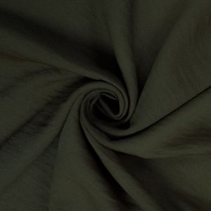 Olive 100% Poly Air Flow Satin Fabric