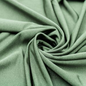 Olive Ice Tropical Circular Knit Fabric by the Yard