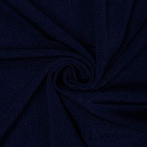 Navy Ice Tropical Circular Knit Fabric by the Yard