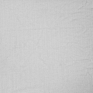 White Rayon Spandex Pontelle Rib Knit Fabric