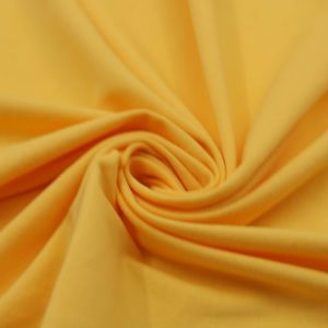 Bright Yellow Cotton Modal Fabric by the Yard