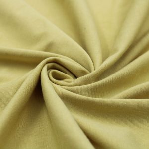 Green Chartreuse Cotton Modal Fabric by the Yard