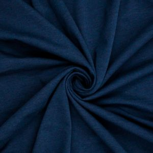 Navy Cotton Modal Fabric by the Yard