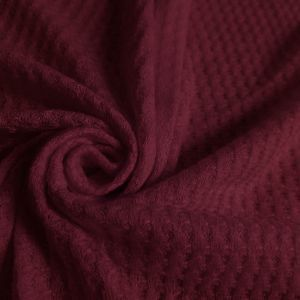 Berrice  Waffle Rayon Spandex Open Knit Fabric