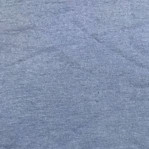 Blue Deep Cotton Spandex Jersey Knit Fabric Combed 7oz