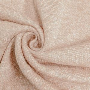 Blush Special French Terry Brushed Fleece Fabric