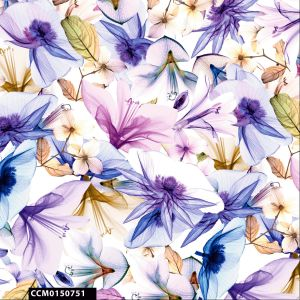Dream Floral Print 100% Cotton Quilting Fabric by the Yard