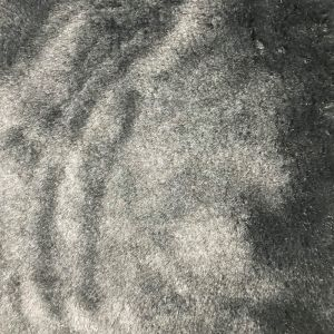 Charcoal Pile Luxury Faux Fur Fabric by the Yard