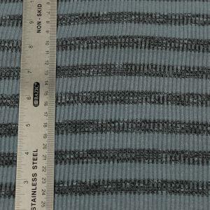 Charcoal Charcoal 2 Tone Slub 2x2 Hacci Rib Rayon Poly Spandex Rib Knit Fabric
