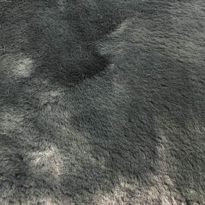 """Charcoal Winter Rabbit -2 CM Pile length Faux Fur 59"""" Fabric"""