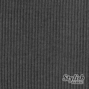 58x72'' Cut Charcoal Solid  2x1 Rib Haccsi Fabric for Backdrops and Bean Bag Covers