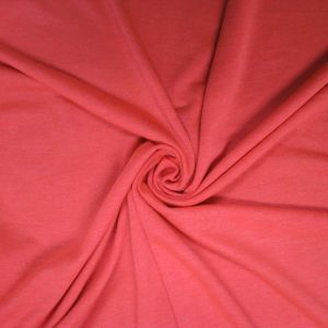 Coral Chic Neon French Terry Spandex Fabric
