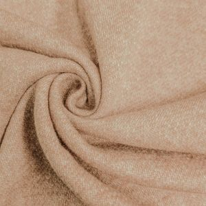 Dusty Blush French Terry Brushed Fleece Fabric