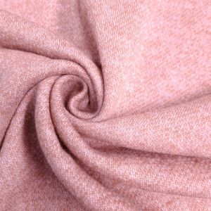 Dusty Pink French Terry Brushed Fleece Fabric