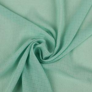 Green Mint Light Light-Weight French  Linen Gauze Fabric