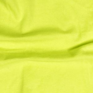 Green Chartreuse Neon Cotton Spandex Jersey Knit Fabric Combed 7oz