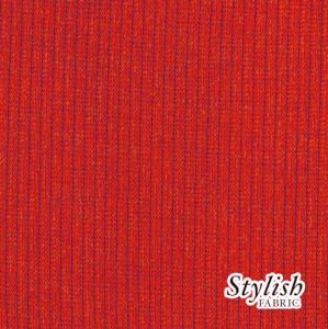 Red Scarlet  2x1 Rib Hacci Fabric