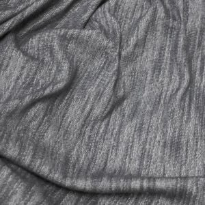 Ash Chambray French Terry Loop Rayon Poly Slub Fleece Fabric