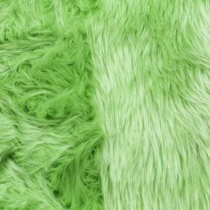 18x20'' Lime Wide 1-2'' Long Pile Luxury Shag Fur for Newborn Photography Basket