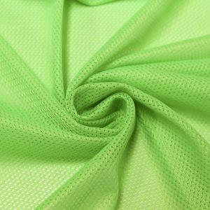 Lime Micro Mesh Knit Fabric