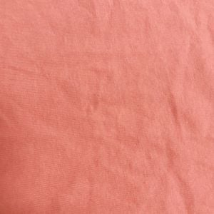 Light Coral Cotton Spandex Jersey Knit Fabric Combed 7oz