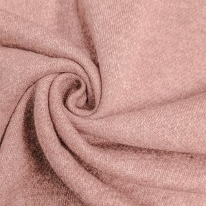Mauve French Terry Brushed Fleece Fabric