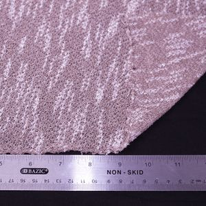 63X72'' Cut Mauve-B Crepe 2 Tone Open Knit Jersey  Rayon Poly Jersey Knit Fabric for Newborn Photography Back Drops and Bean Bag Covers