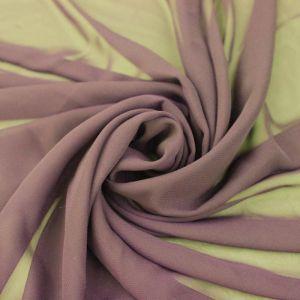 Mauve Dark Solid Hi-Multi Chiffon Fabric