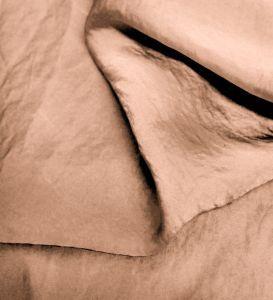 Mauve Pale Silky Satin Chiffon Fabric - Reversible