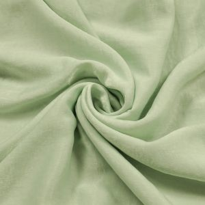 Mint Soft Poly  Sand Wash Satin Fabric