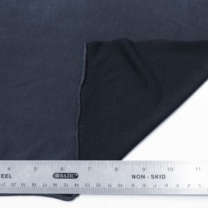 Navy Modal Poly Sand Wash Jersey Cupro Knit Fabric