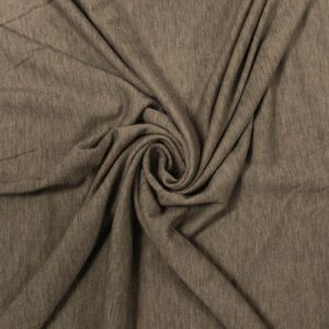 Oatmeal B French Terry Spandex Fabric