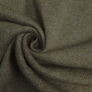 Olive French Terry Brushed Fleece Fabric