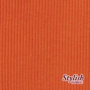 58x72'' Cut Orange Dark 2x1 Rib Haccsi Fabric for Backdrops and Bean Bag Covers