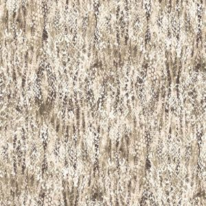 Ecru Neutral Animal Skin Printed on Hi Multi Chiffon Wash Fabric by the Yard