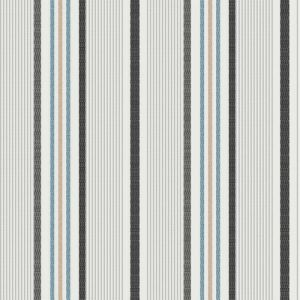 """Off-white Silver Textured Stripes Design Printed 55"""" Light-Weight Rayon Challis Fabric by the Yard"""