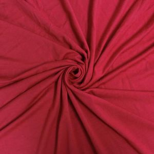 Red Ultra-Heavy Weight Rayon Spandex Jersey Knit Stretch Fabric
