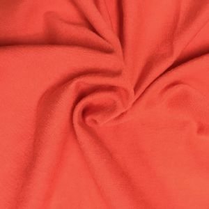 Red Crimson Cotton Spandex Jersey Knit Fabric Combed 7oz