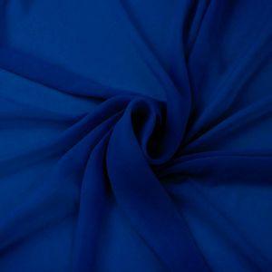 Royal Neon Solid Hi-Multi Chiffon Fabric