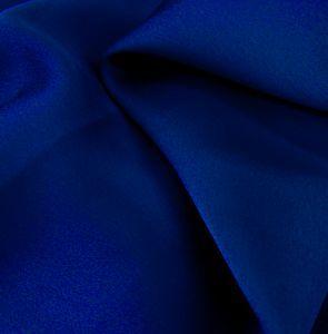 Royal Neon Crepe Back Satin Mechanical Satin Chiffon  Fabric