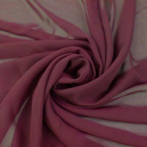 Ruby Solid Hi-Multi Chiffon Fabric