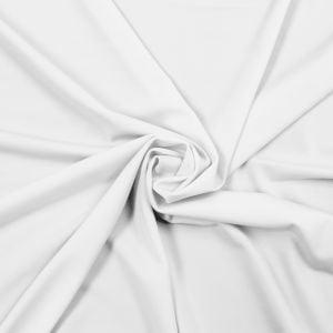 """Snow White 60"""" Swim Jersey 4-Way Stretch Fabric"""